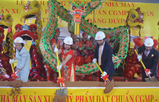 Nhà máy mỹ phẩm Đăng Dương được đầu tư hơn 90 tỷ đồng theo tiêu chuẩn cGMP- Asean.