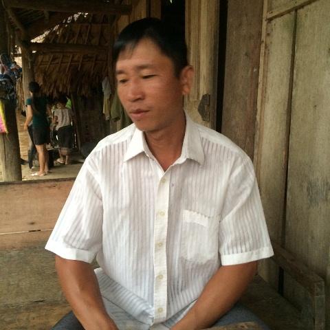 Anh Lương Công Hoàn đã được 2 lần ông Lưu chữa do rắn độc cắn