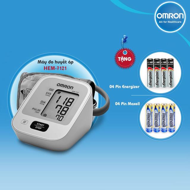 Máy đo huyết áp Omron thương hiệu duy nhất được hội tim mạch Việt Nam KHUYÊN DÙNG