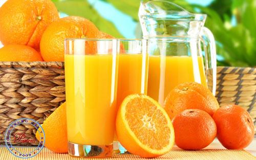 Nước cam rất tốt cho sức khỏe.
