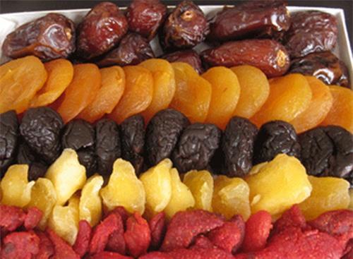 Hạn chế trái cây khô nếu bạn muốn giảm cân.