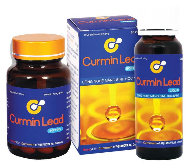 Tại Việt Nam, lần đầu tiên Novasol Curcumin được bào chế ứng dụng trong sản phẩm CURMIN LEAD. Thêm lựa chọn mới cho bệnh nhân dạ dày-ung bướu.CURMIN LEAD giúp :