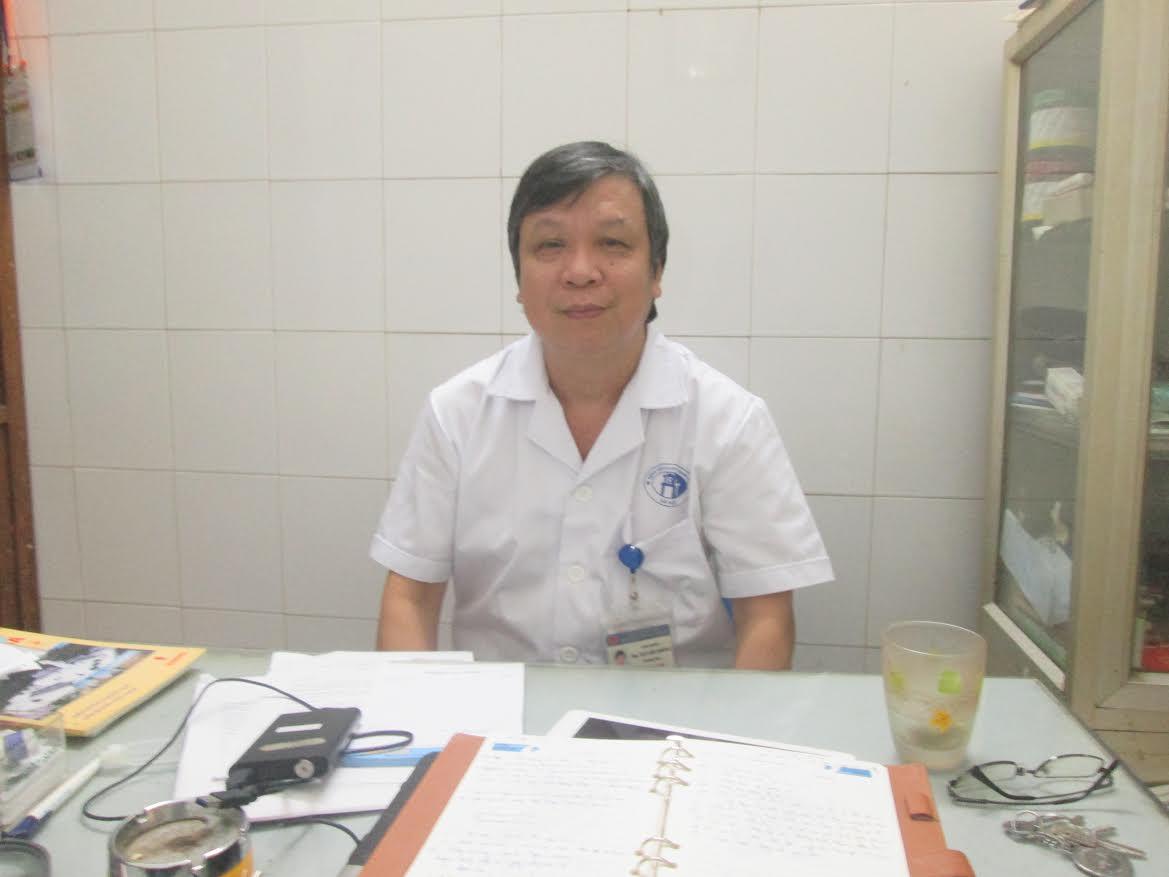 BS Thống- Trưởng khoa bỏng bệnh viện Xanh Pôn
