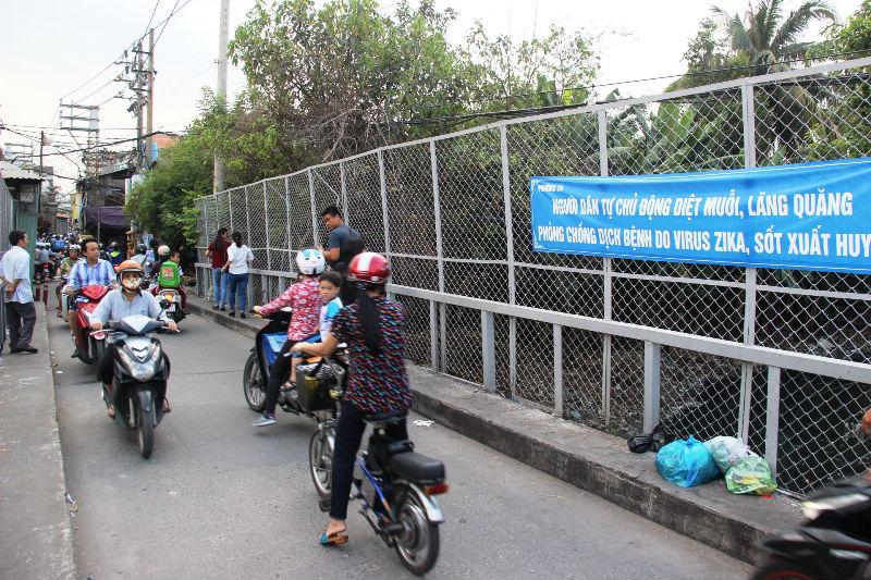 """Nơi """"dẫn đầu"""" người mắc Zika ở Sài Gòn"""